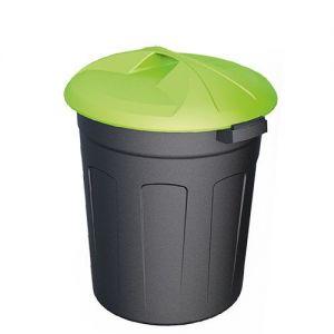 Пластиковый цилиндрический контейнер 110 литров