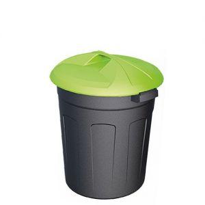 Пластиковый цилиндрический контейнер 50 литров