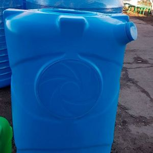 Прямоугольная ёмкость 1000 литров горизонтальная