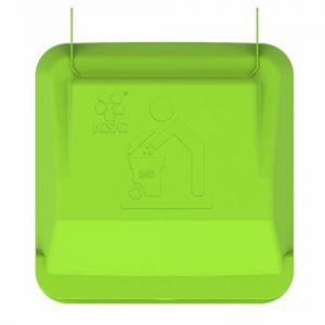 Крышка контейнера для мусора 240 литров