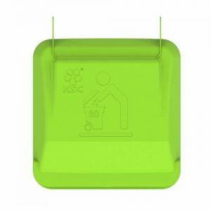 Крышка контейнера для мусора 80 литров